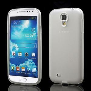 Gelové pouzdro 2v1 na Samsung Galaxy S4 - bílé - 1