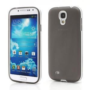 Gelové pouzdro 2v1 na Samsung Galaxy S4 - šedé - 1