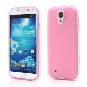 Gelové pouzdro 2v1 na Samsung Galaxy S4 - růžové - 1