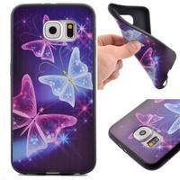 Jells gelový obal na Samsung Galaxy S7 - kouzelní motýlci - 1/6