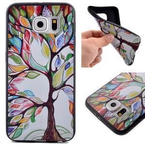 Jells gelový obal na Samsung Galaxy S7 - malovaný strom - 1