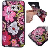 Jells gelový obal na Samsung Galaxy S7 - květiny - 1/6