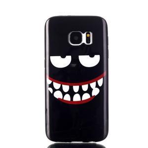 Sally gelový obal na Samsung Galaxy S7 - monster - 1