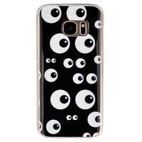 Gelový kryt na mobil Samsung Galaxy S7 - očička - 1/4
