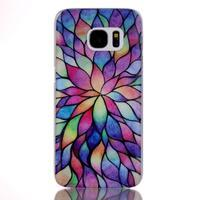 Plastový obal na mobil Samsung Galaxy S7 - petals - 1/3