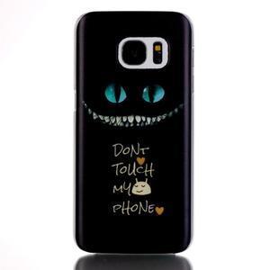 Plastový obal na mobil Samsung Galaxy S7 - nešahat - 1