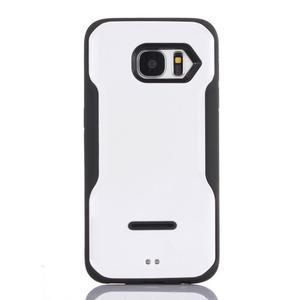 Odolný hybridní kryt na mobil Samsung Galaxy S7 - bílý - 1