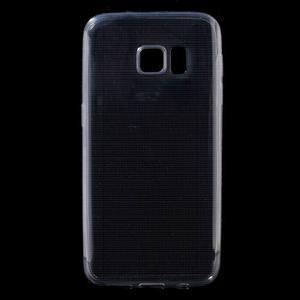 Ultratenký gelový obal na mobil Samsung Galaxy S7 - šedý - 1