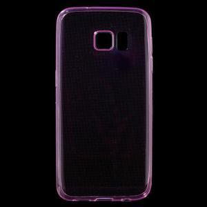 Ultratenký gelový obal na mobil Samsung Galaxy S7 - růžový - 1