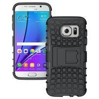 Outdoor odolný obal na mobil Samsung Galaxy S7 - černý - 1/5
