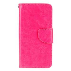 Stand peněženkové pouzdro na Samsung Galaxy S7 - rose - 1