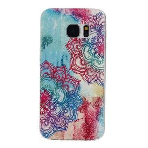 Pictu gelový obal na mobil Samsung Galaxy S7 - lotus - 1