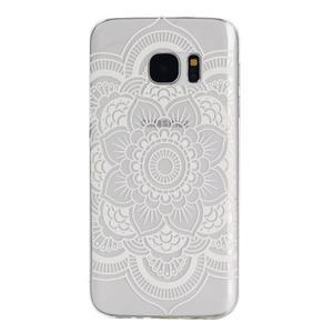 Pictu gelový obal na mobil Samsung Galaxy S7 - květina - 1
