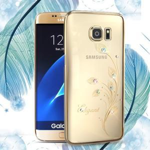 Swarovski plastový obal s kamínky na Samsung Galaxy S7 - elegant