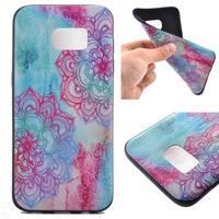 Backy gelový obal na Samsung Galaxy S7 edge - mandala - 1/6