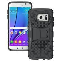 Odolný outdoor kryt na Samsung Galaxy S7 edge - černý - 1/5