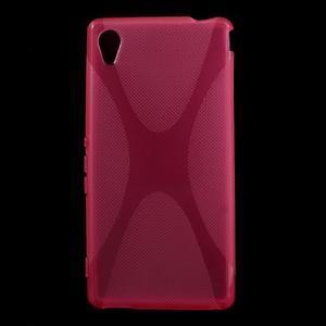 Rose gelový obal na Sony Xperia M4 Aqua - 1
