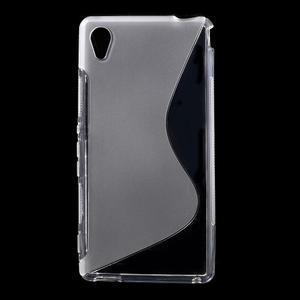Transparentní s-line pružný obal na Sony Xperia M4 Aqua - 1