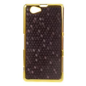 Elegantní obal na mobil Sony Xperia Z1 Compact - fialový - 1