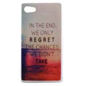 Gelový obal na mobil Sony Xperia Z5 Compact - regret - 1