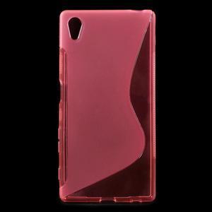 Sline gelový kryt na mobil Sony Xperia Z5 - rose - 1