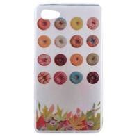 Gelový obal na mobil Sony Xperia Z5 Compact - koblihy - 1/4