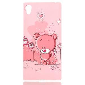 Softy gelový obal na mobil Sony Xperia Z5 - medvídek - 1