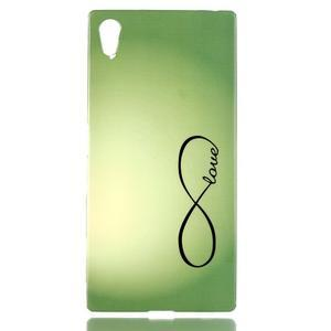 Softy gelový obal na mobil Sony Xperia Z5 - love - 1