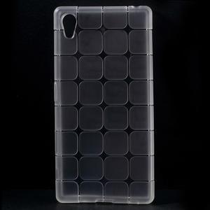 Square gelový obal na Sony Xperia Z5 - bílý - 1