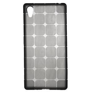 Square gelový obal na Sony Xperia Z5 - šedý - 1