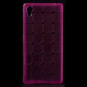 Square gelový obal na Sony Xperia Z5 - rose - 1