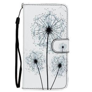Koženkové pouzdro na mobil Sony Xperia Z5 - pampelišky - 1
