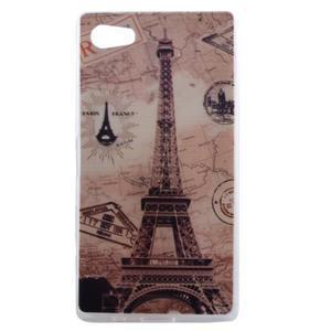 Gelový obal na mobil Sony Xperia Z5 Compact - Eiffelova věž - 1