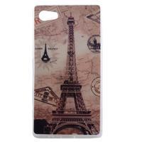 Gelový obal na mobil Sony Xperia Z5 Compact - Eiffelova věž - 1/4