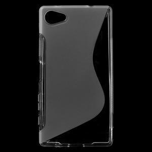 S-line gelový obal na Sony Xperia Z5 Compact - transparentní - 1