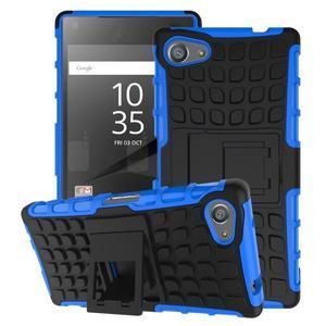 Outdoor odolný kryt na mobil Sony Xperia Z5 Compact - modrý - 1