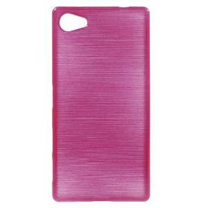 Brush gelový obal na Sony Xperia Z5 Compact - rose - 1