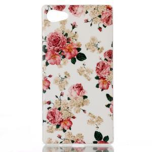 Sally gelový obal na Sony Xperia Z5 Compact - květiny - 1