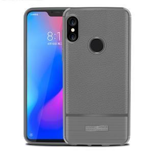 Litch odolný gelový kryt na mobil Xiaomi Mi A2 Lite - šedý - 1