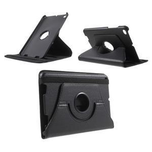 Otočné polohovatelné pouzdro na Xiaomi Mi Pad 2 - černé - 1