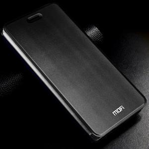 Vintage stylové PU kožené pouzdro na mobil Xiaomi Mi5 - černé - 1