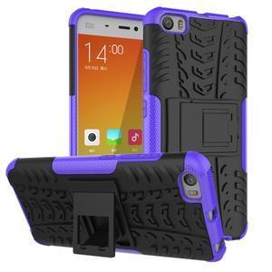 Odolný outdoor obal na mobil Xiaomi Mi5 - fialový - 1