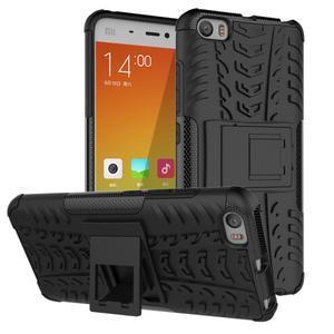 Odolný outdoor obal na mobil Xiaomi Mi5 - černý - 1