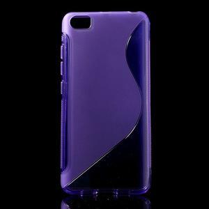 S-line gelový obal na mobil Xiaomi Mi5 - fialový - 1
