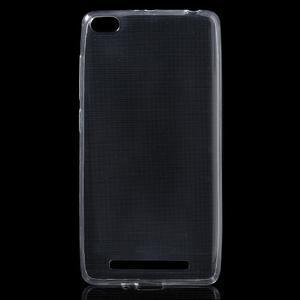 Ultratenký slim gelový obal na mobil Xiaomi Redmi 3 - transparentní - 1
