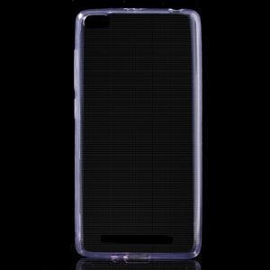 Ultratenký slim gelový obal na mobil Xiaomi Redmi 3 Pro - fialový - 1