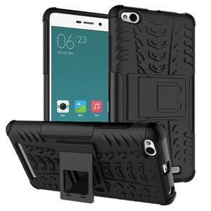 Outdoor odolný obal na mobil Xiaomi Redmi 3 - černý - 1