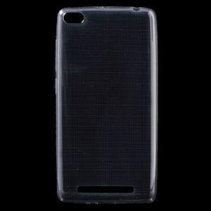 Ultratenký slim gelový obal na mobil Xiaomi Redmi 3 Pro - šedý - 1