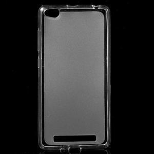 Matné gelové pouzdro na mobil Xiaomi Redmi 3 - transparentní - 1