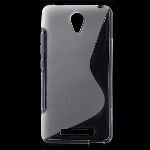 S-line gelový obal na mobil Xiaomi Redmi Note 2 - transparentní - 1